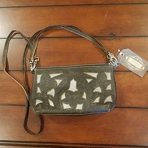 NWT Brown leather purse